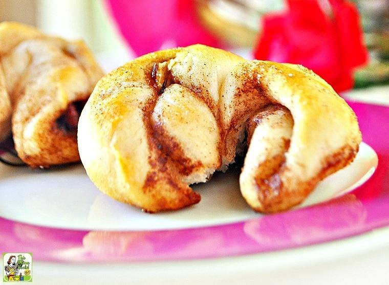 Kid Friendly Surprise Breakfast Sweet Rolls