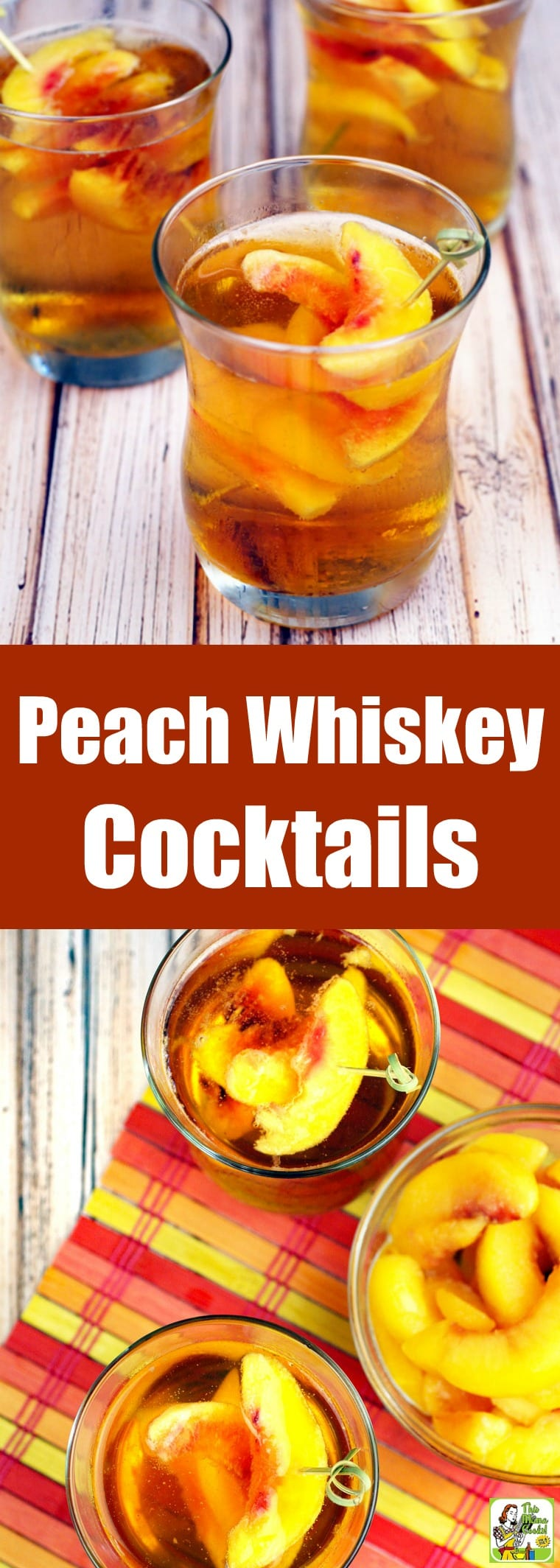 Peach Whiskey Cocktail Recipe