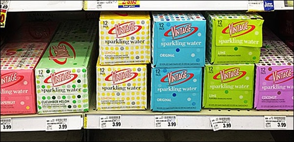 Find Vintage Sparkling Water at Kroger stores. Learn more at This Mama Cooks! On a Diet
