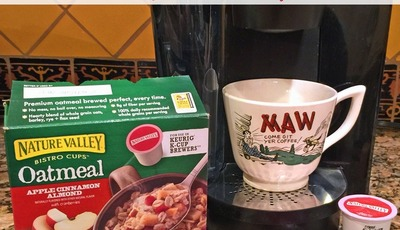 Speed up your breakfast routine with Nature Valley Bistro Cups Oatmeal – {FREE Coupon & a CASH Giveaway!}