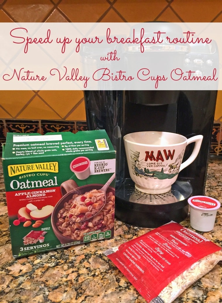 Learn how to speed up your breakfast routine with Nature Valley Bistro Cups Oatmeal and get a Publix coupon for $3 off!