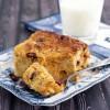 Gluten Free Pumpkin Cranberry Bread Pudding