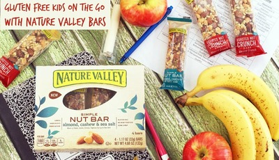Gluten free kids on the go with Nature Valley Bars