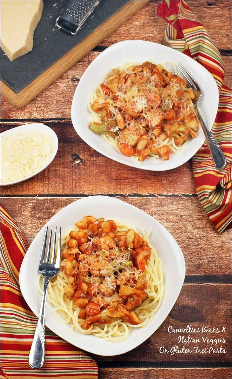 Easy pasta recipe with cannellini beans italian veggies looking for an easy pasta recipe to make for dinner in 20 minutes or less forumfinder Choice Image