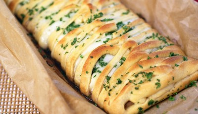 Turkey Cranberry Crescent Braid