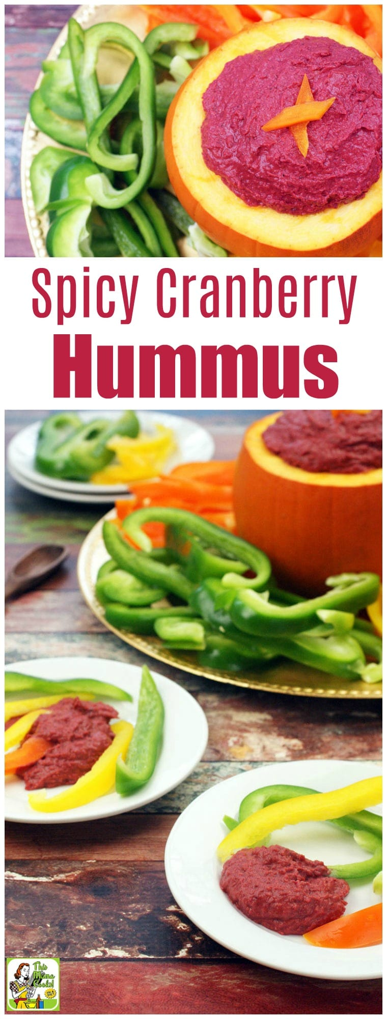 Spicy Cranberry Hummus Recipe
