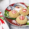 Easy Gluten Free Peppermint Blossom Cookies