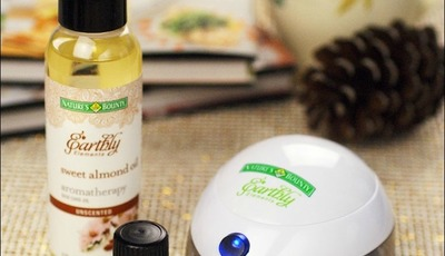 Take time for yourself with Nature's Bounty® Earthly Elements™ Essential Oils