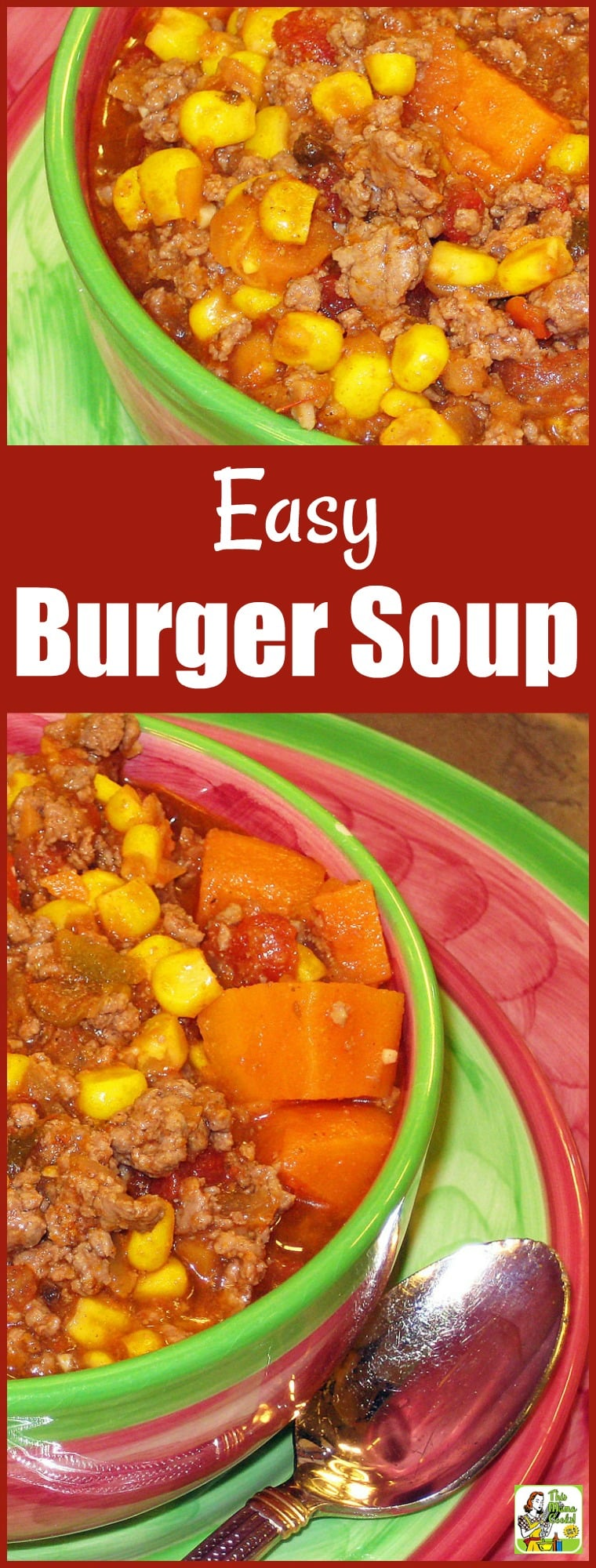 Easy Burger Soup Recipe