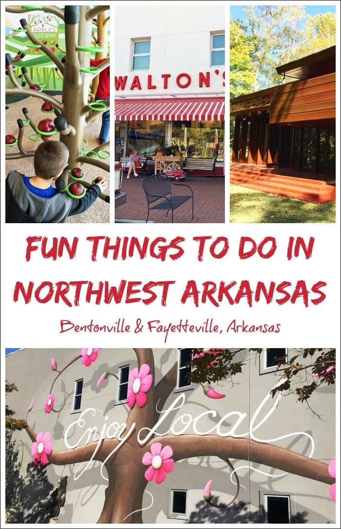 Visiting Bentonville or Fayetteville, Arkansas soon? Here are some of the fun things you can do with the kids in Northwest Arkansas during your next vacation.