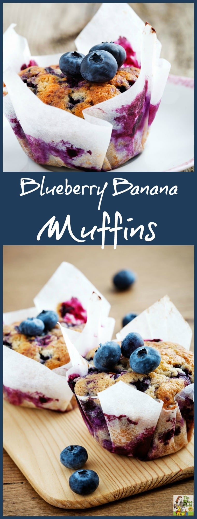 Looking for Jillian Michaels recipes from The Master Your Metabolism Cookbook? Here's a recipe for blueberry yogurt muffins made with bananas that's not only good for you but is easy to make! Make these blueberry yogurt muffins for breakfast, a healthy post-workout snack, or even dessert! #blueberry #yogurt #muffins #muffin #breakfast #snack #dessert #banana #recipe #healthy #healthyrecipe #recipe #jillianmichaels #masteryourmetabolism #baking #easyrecipes #easyrecipe