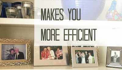 4 Ways Eliminating Clutter Makes You More Efficient {Win a Clorox 2® Prize Pack!–$155 value}