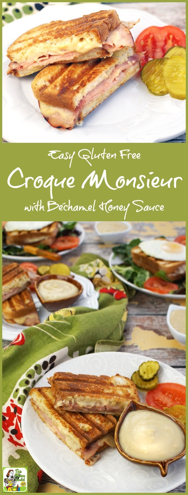 but with ham and bechamel sauce. This Easy Gluten Free Croque Monsieur ...