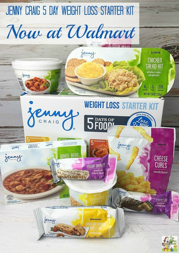 Try the Jenny Craig 5 Day Weight Loss Starter Kit. Now available at Walmart!