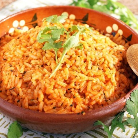 Easy Mexican Rice Recipe This Mama Cooks On A Diet