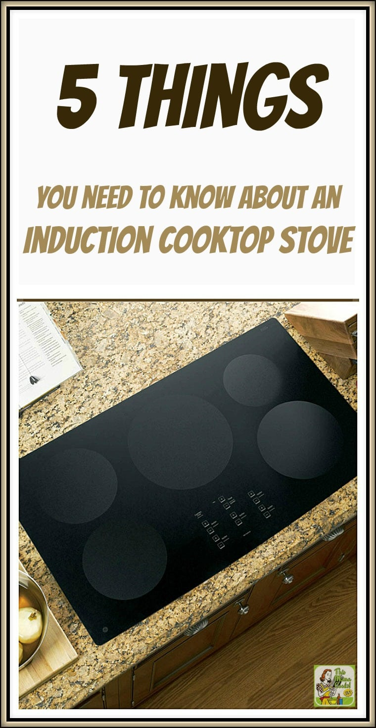 Are you considering replacing your gas or electric cooktop with an induction cooktop stove? Here are 5 things you need to know about an induction cooktop stove.