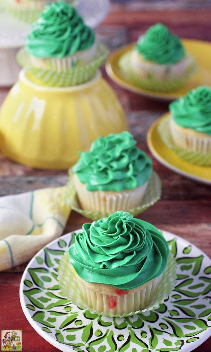 St. Patrick's Day Pot of Gold Filled Cupcakes Recipe
