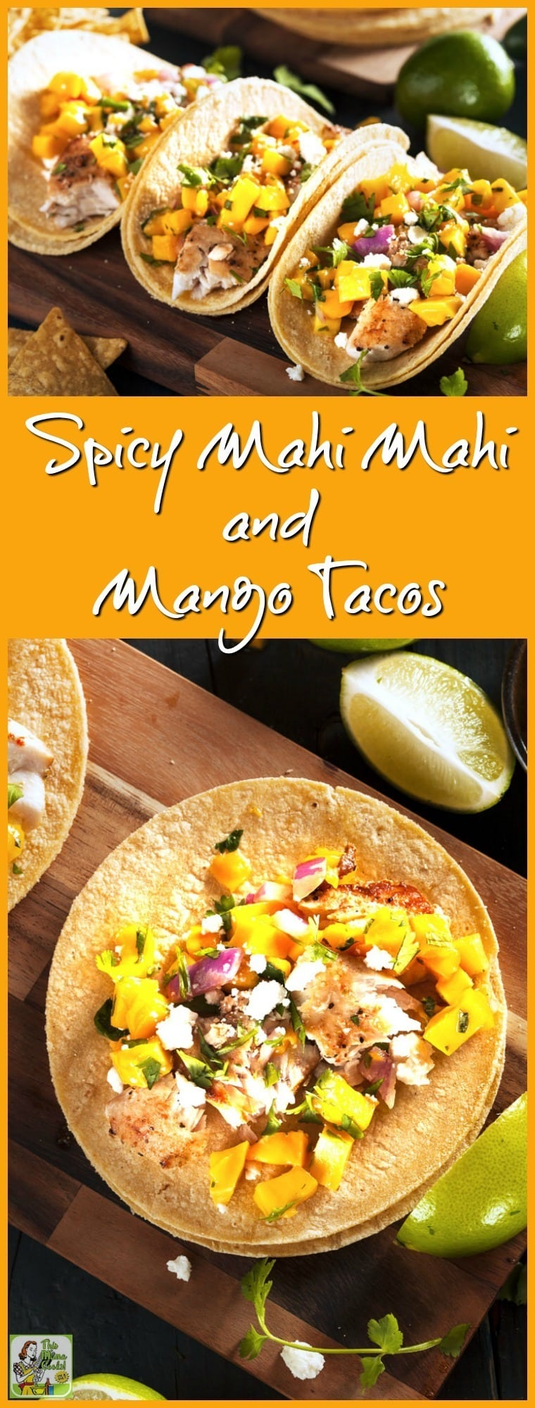 This Spicy Mahi Mahi and Mango Fish Taco recipe from Jillian Michaels ...