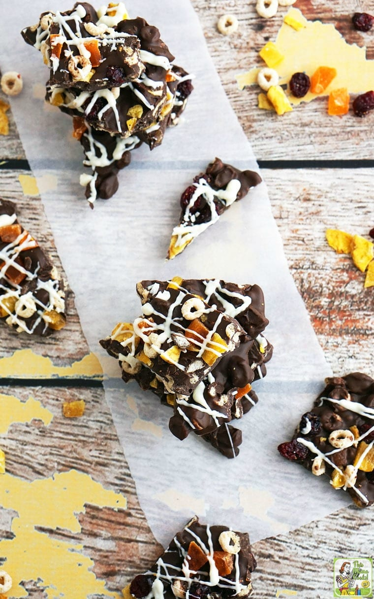 Easy Gluten Free Chocolate Bark Candy