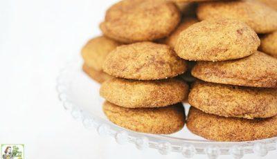 Rice Flour Snickerdoodles Cookie Recipe