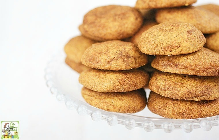 Rice Flour Snickerdoodles Cookie Recipe