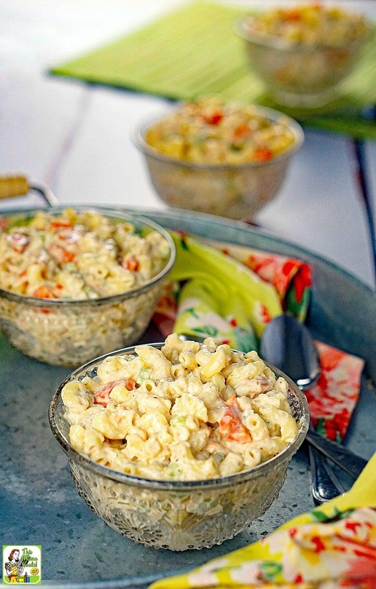 Easy Seafood Macaroni Salad