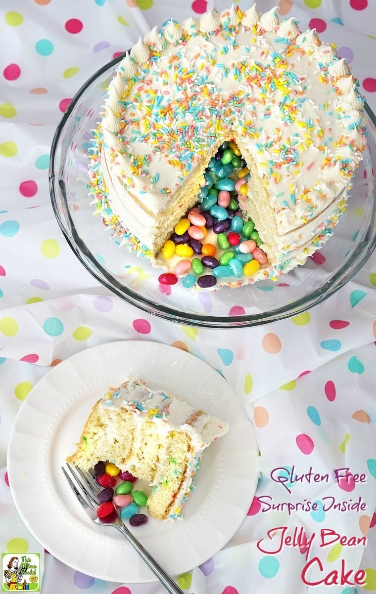 Easy Surprise Inside Cake Recipe