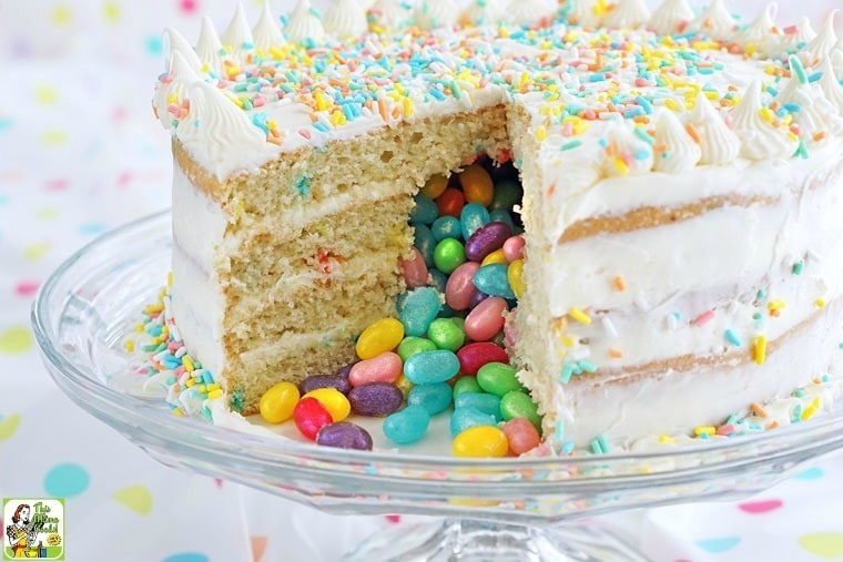 Jelly Bean Birthday Cake
