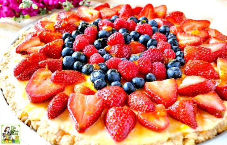 Berry Good Oatmeal Cookie Cake Recipe