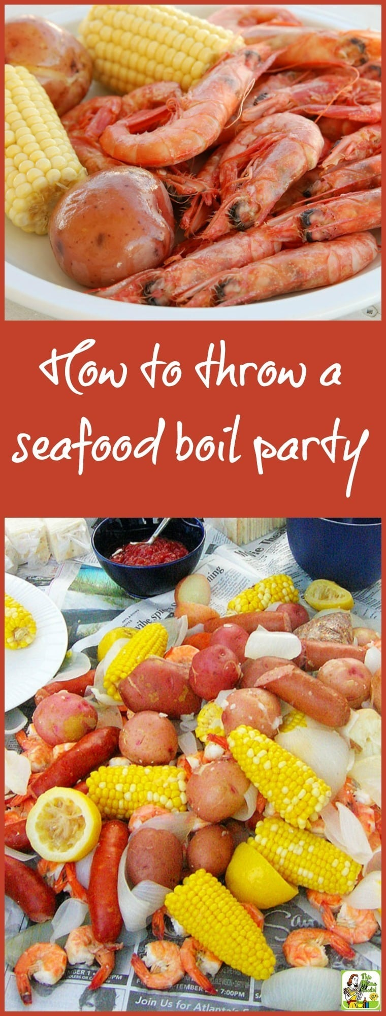How to throw a Seafood Boil Party | This Mama Cooks! On a Diet™