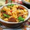 One Pot Andouille Sausage Jambalaya