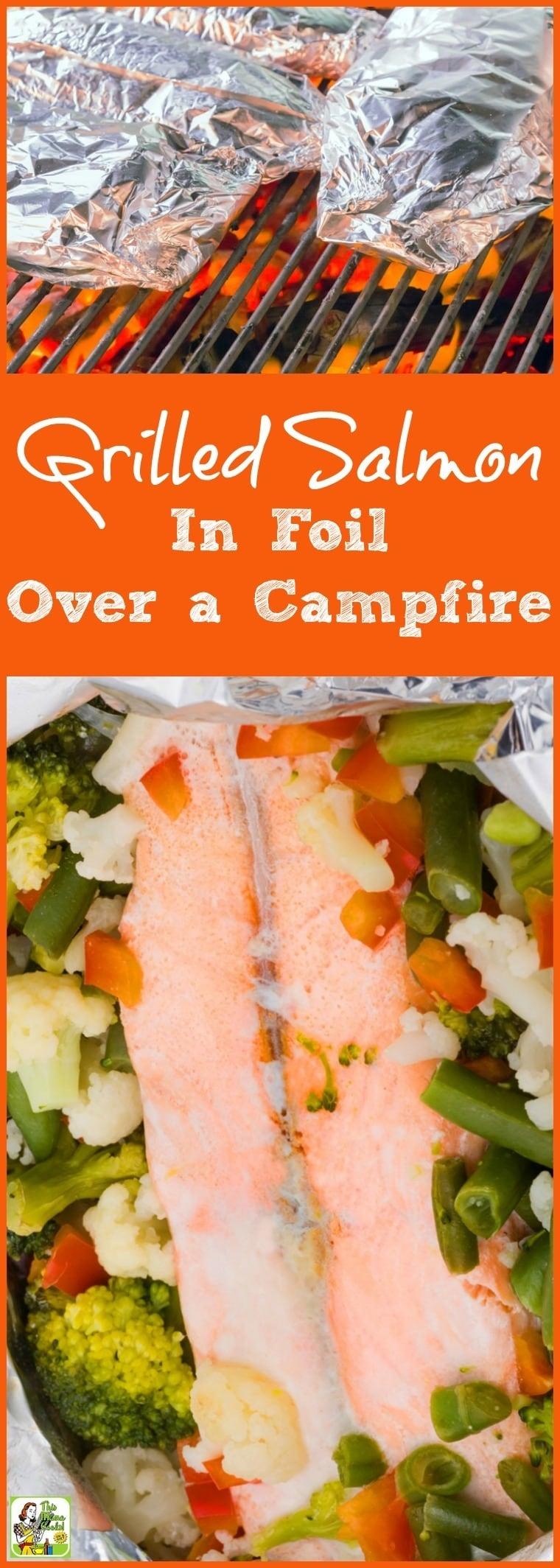 It's So Easy To Make This Grilled Salmon In Foil Over A Campfire When You'