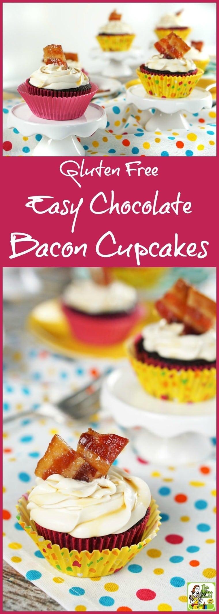 Maple Bacon Cupcakes Recipe Using Cake Mix