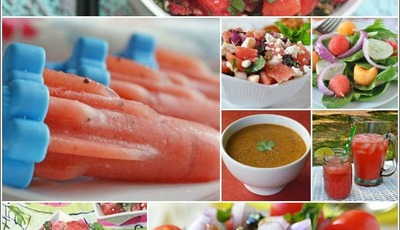 Healthy watermelon recipe roundup