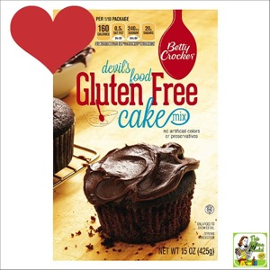 Best Gluten Free Products List: You'd hardly know that Betty Crocker Gluten Free Devil's Food Cake Mix is a gluten free cake mix!