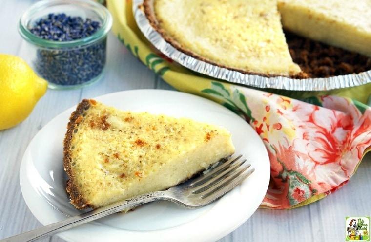 Gluten Free Quick & Easy Buttermilk Pie
