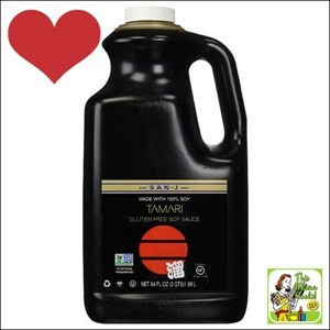 Best Gluten Free Products List: San-J Tamari Gluten Free Soy Sauce, Non GMO Black Label