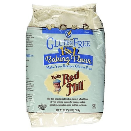Make Blueberry Muffin Streusel Cake gluten free with  Bob's Red Mill Gluten-Free 1-to-1 Baking Flour