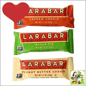 Best Gluten Free Products List: Larabar Gluten Free Snack Bars