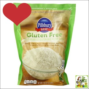 Best Gluten Free Products List: I also recommend Pillsbury Gluten Free Multi-Purpose Flour Blend for gluten free baking and cooking.