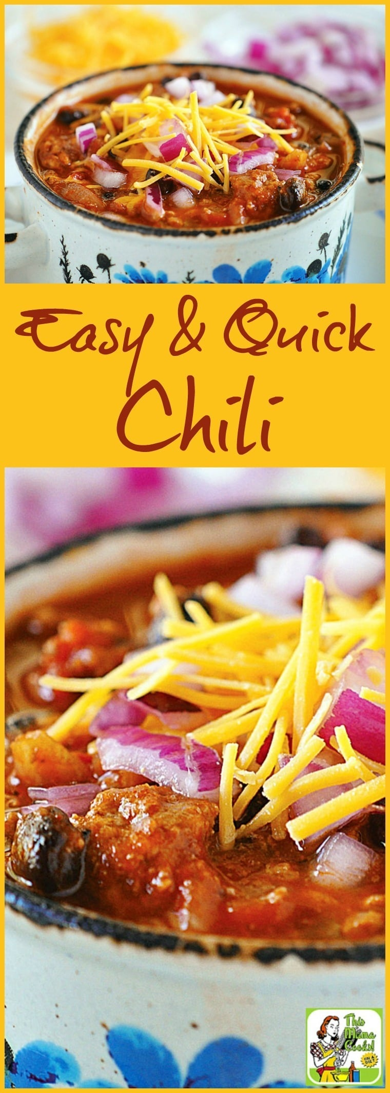 Easy & Quick Chili Recipe