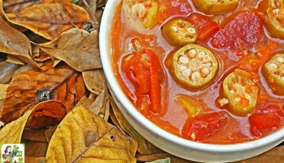 Easy Tomato & Okra Soup Recipe