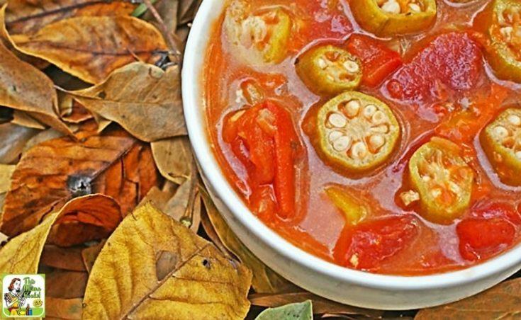 Easy Tomato & Okra Soup Recipe