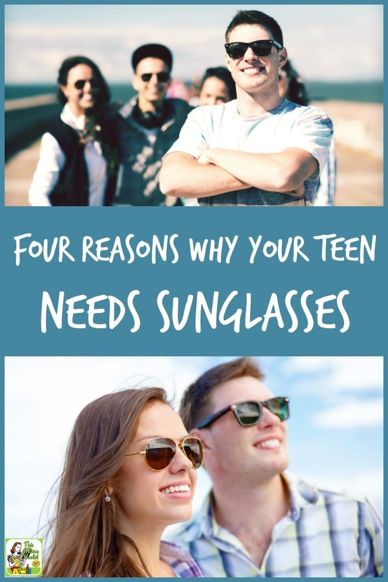 Does your teenager spend time outdoors or driving? Click to learn the four reasons why your teen needs sunglasses.
