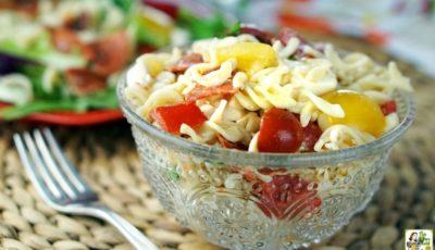 Caprese Pasta Salad Recipe