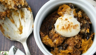 Gluten Free Slow Cooker Pumpkin Pudding – Win a $50 Kroger gift card!