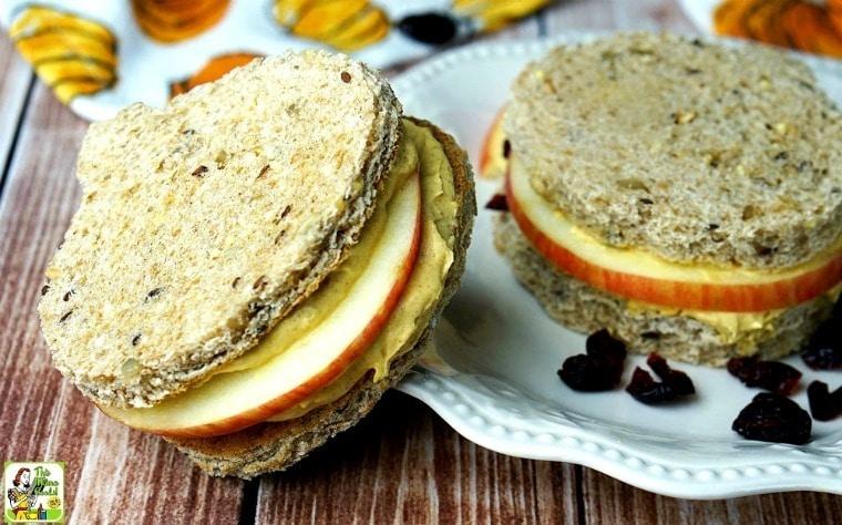 Easy Pumpkin Dip Cream Cheese Sandwiches