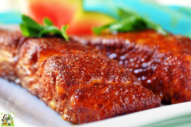 Easy oven baked salmon this mama cooks on a diet for How to cook salmon fish