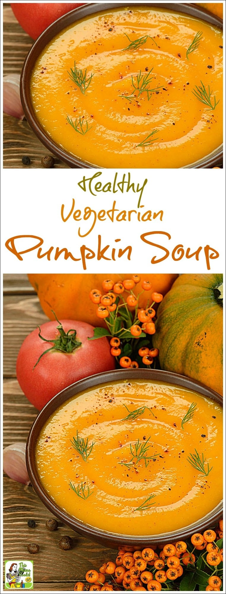 Looking for an easy homemade pumpkin soup recipe? Try this Easy Vegetarian Pumpkin soup. Click to get this healthy gluten free and dairy free pumpkin soup recipe.