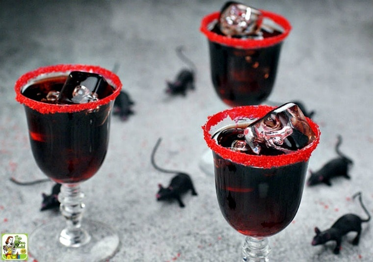 searching for spooky halloween cocktail ideas try a dead mans kiss cocktail